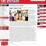59- YORUM Gazetesinde Bir Kalemle Dünya Değişir Başlıklı Haberimiz